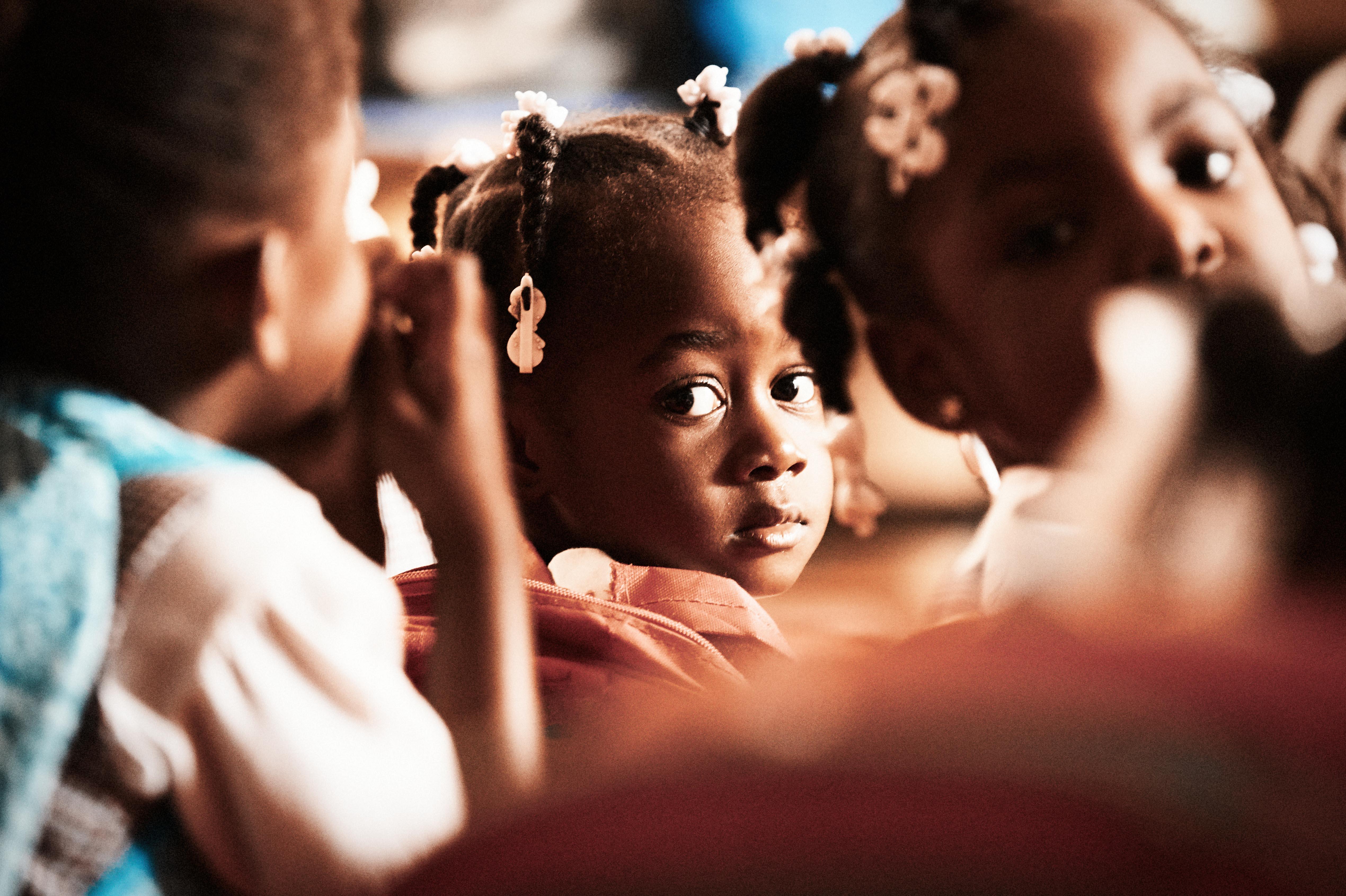 Schulkind, Unterricht, Haiti