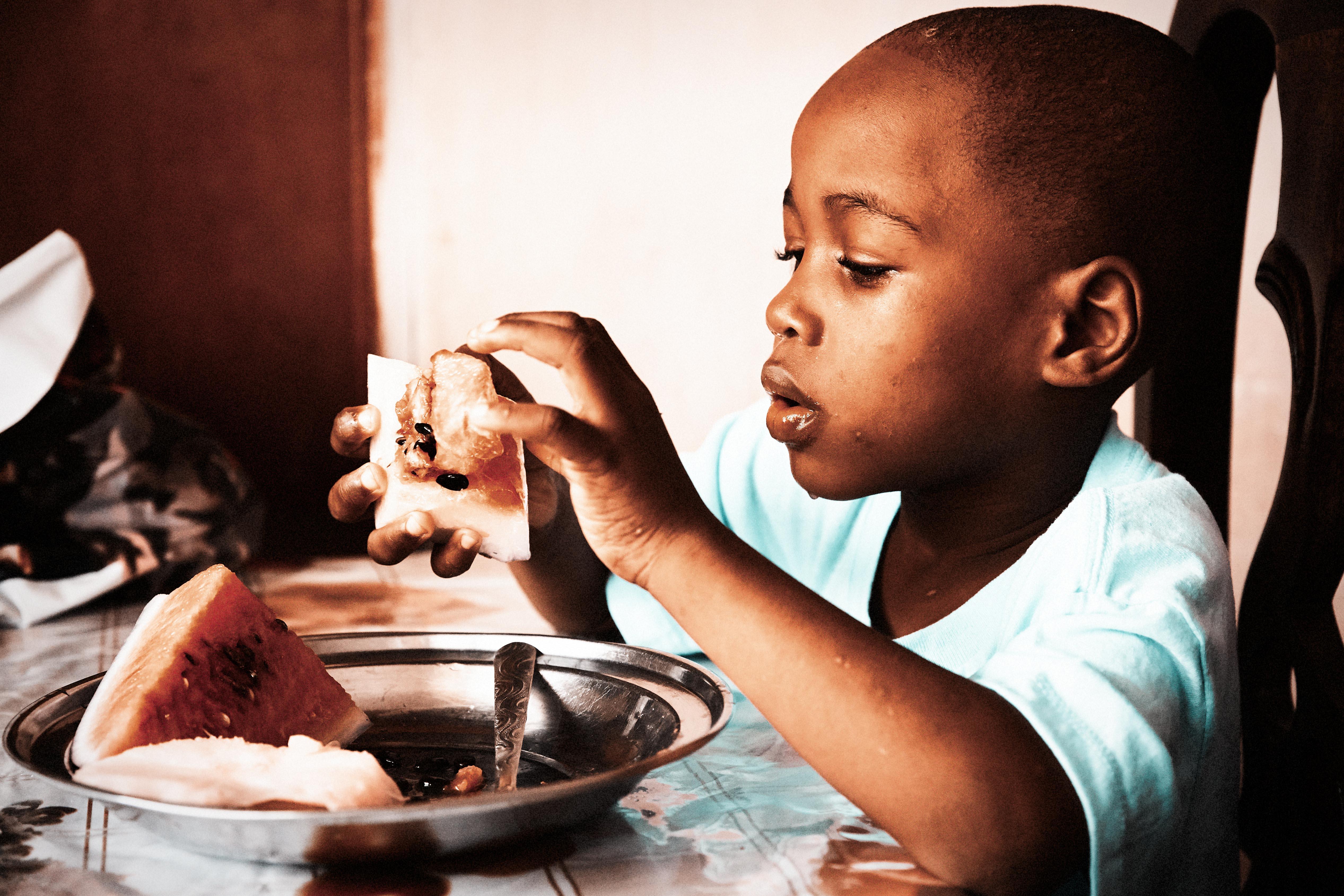 Waisenhaus, Haiti, Wassermelone