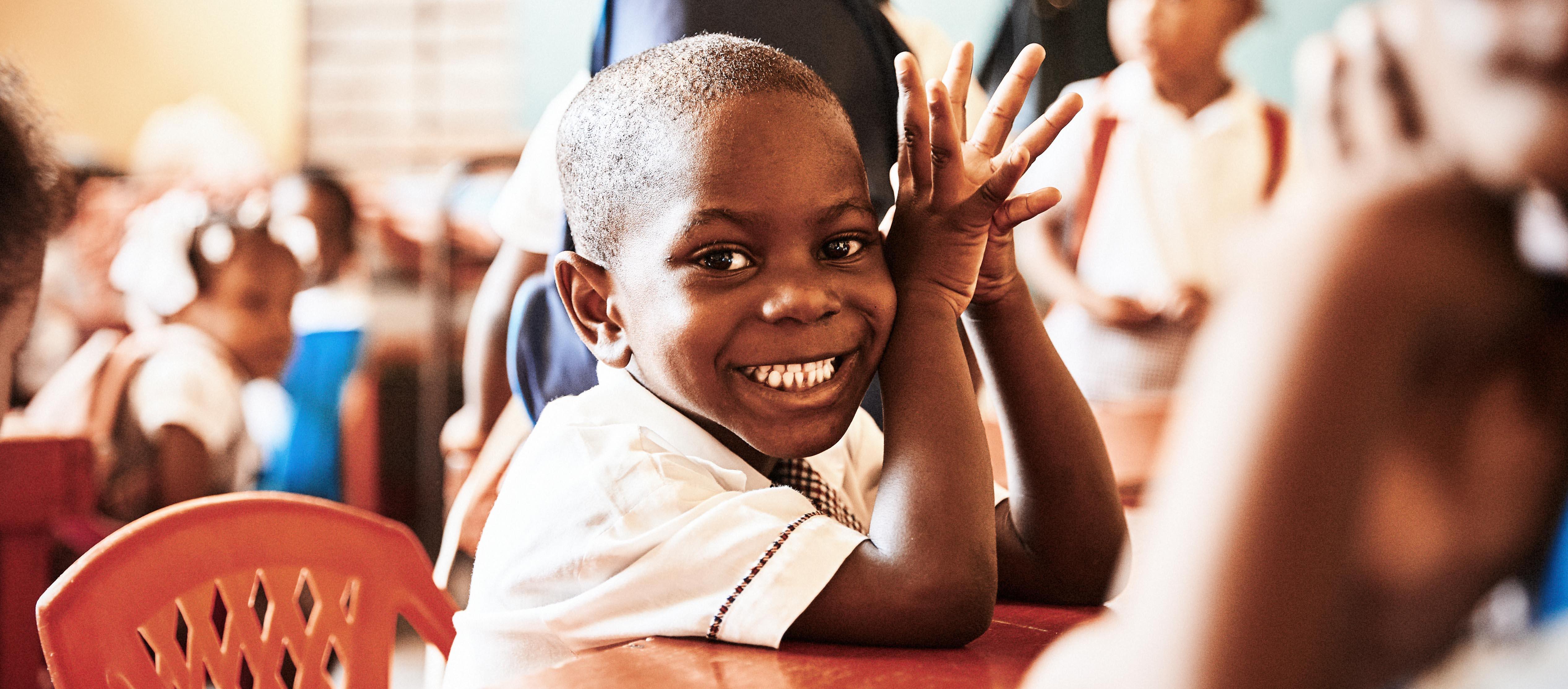 Haiti Kind Waisenkind